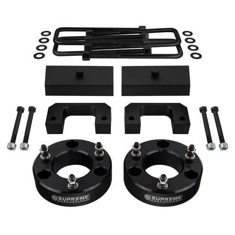 "2007-2020 GMC Sierra 1500 Full Suspension Lift Kit 6-Lug / 2WD 4WD | SUPREME'S NEW HD STEEL LIFT BLOCKS!-Suspension Lift Kits-Supreme Suspensions-3.5""-1""-Supreme Suspensions®"