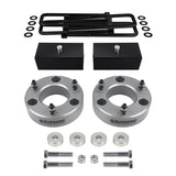 2007(New)-2019 Chevy Silverado 1500 Z71 / LTZ Full Suspension Lift Kit & Differential Drop 4WD 4x4