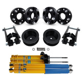 "2005-2010 Jeep Grand Cherokee WK Full 3.5"" + 2"" Rear Suspension Lift Kit, Bilstein Shocks & Wheel Spacers 2WD 4WD"