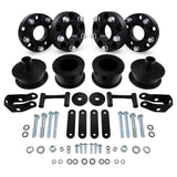 "2007-2018 Jeep Wrangler JK 2.5"" Full Coil Spacer Lift Kit & Wheel Spacers"