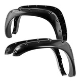 2002-2008 Dodge Ram 1500 / 2002-2009 Ram 2500/3500 4pc Bolt-on Rivet Style Spyder Fender Flares