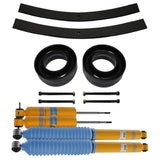 1998-2003 Dodge Durango Full Add a Leaf Rear Suspension Lift Kit &  Bilstein Shocks 2WD 4x2