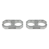 "2.0"" x 2.0"" Billet Shock Reservoir Clamps"