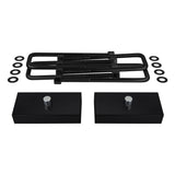 2001-2006 Chevy Avalanche 2500 Rear Suspension Lift Kit Blocks & U Bolts 2WD & 4WD
