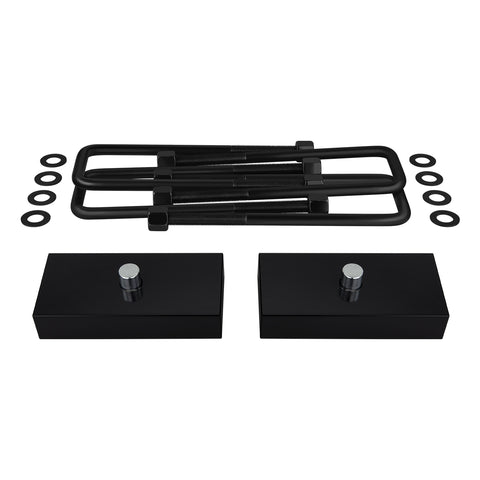 "1999-2020 Chevy Silverado 1500 Rear Suspension Lift Kit Blocks & U Bolts 2WD 4WD-Suspension Lift Kits-Supreme Suspensions-1.5""-2000-2006-Supreme Suspensions®"