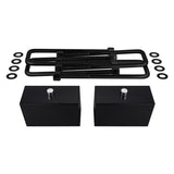 2004-2020 Nissan Titan Rear Lift Kit Blocks & Extended U Bolts 2WD 4WD
