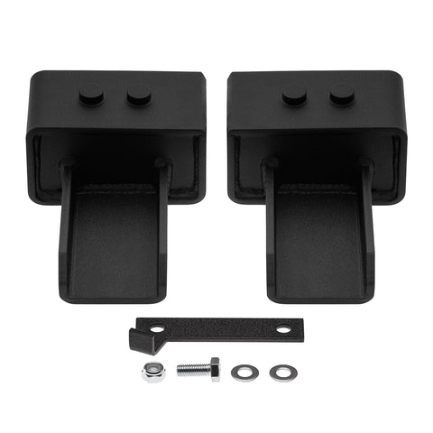 "2004-2020 Ford F150 US Patent Pending Rear Lift Blocks with Built-In Bump Stop Plates 2WD-Suspension Lift Kits-Supreme Suspensions-3"" Rear Lift Blocks-Supreme Suspensions®"