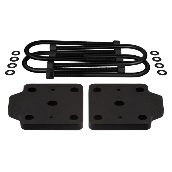 "2005-2019 Nissan Frontier U-Bolt Flip Striker Plates with 5/8"" U-Bolts Kit 2WD 4WD"