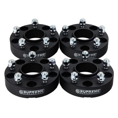"2002 - 2010 Nissan Altima 1"" Wheel Spacers-Wheel Spacers-Supreme Suspensions-Black-(x4) Piece-Supreme Suspensions®"