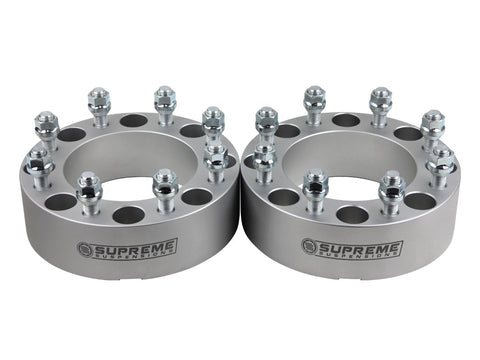 "1999-2019 Chevy Silverado 1500 2"" Wheel Spacers (78.3mm Bore)"