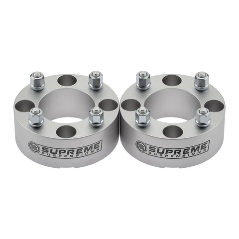 2003-2006 Yamaha Kodiak 450 Lug Centric Wheel Spacers-Wheel Spacers-Supreme Suspensions-2pc Kit: Front or Rear-1.5 Inch Thick-Supreme Suspensions®