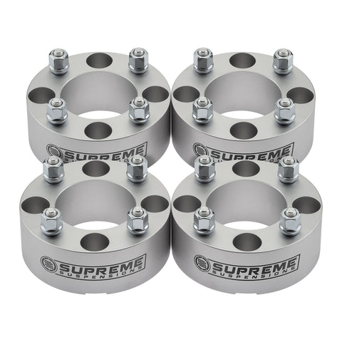 2004-2007 Yamaha Rhino 660 Lug Centric Wheel Spacers-Wheel Spacers-Supreme Suspensions-4pc Kit: Front and Rear-1.5 Inch Thick-Supreme Suspensions®