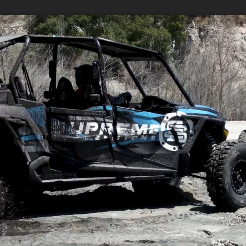 14-19 Polaris RZR XP 1000 2 & 4 Seater UTV Front & Rear Lower Door Insert Panels