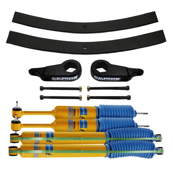 1997-2011 Ford Ranger Full Add-A-Leaf Rear Suspension Lift Kit & Bilstein Shocks 4WD