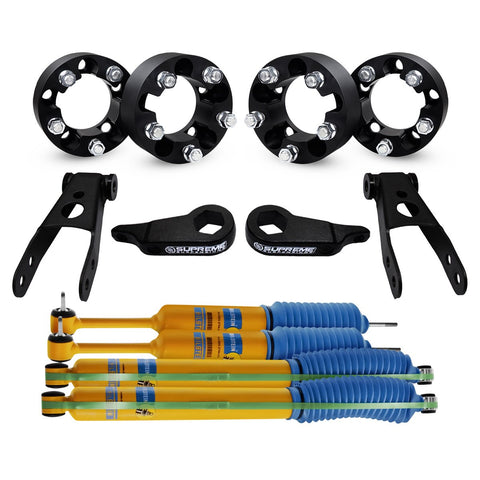 1998-2011 Ford Ranger Full Suspension Lift Kit, Wheel Spacers & Bilstein Shocks 4WD