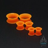 Silicone Skin Eyelets - UV Orange
