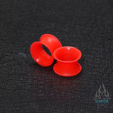 Silicone Skin Eyelets - UV Red