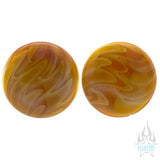 Single-Flared Glass Exotic Plugs