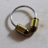 "16 ga. Circular Barbell with Titanium ""Bullet"" Threaded Ends"