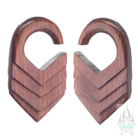 Solid Chevron - Bloodwood