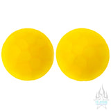 Martele Glass Color Front Plugs - Yellow