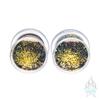 Glass Dichroic Plugs - Gold