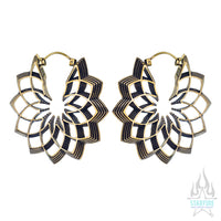 Merkato (Standard / Earrings) - Brass