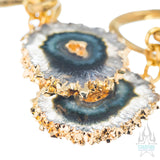 Crossovers with Gold Plated Stalactite Slices
