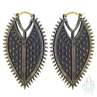 Twilight (Standard / Earrings) - Brass