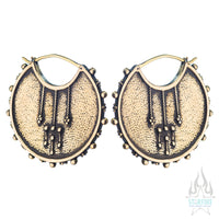 Moirai (Standard / Earrings) - Brass