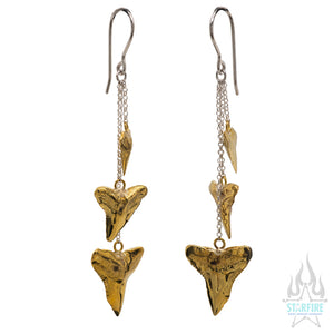 Shark Cascade Earrings