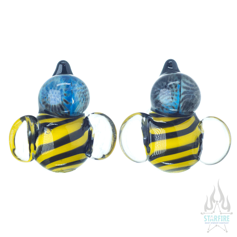 Bee Glass Plugs
