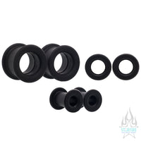 Silicone Tunnels - Black