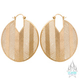 Mirage Earrings - Satin Finish
