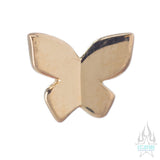 threadless: Butterfly Pin in Gold