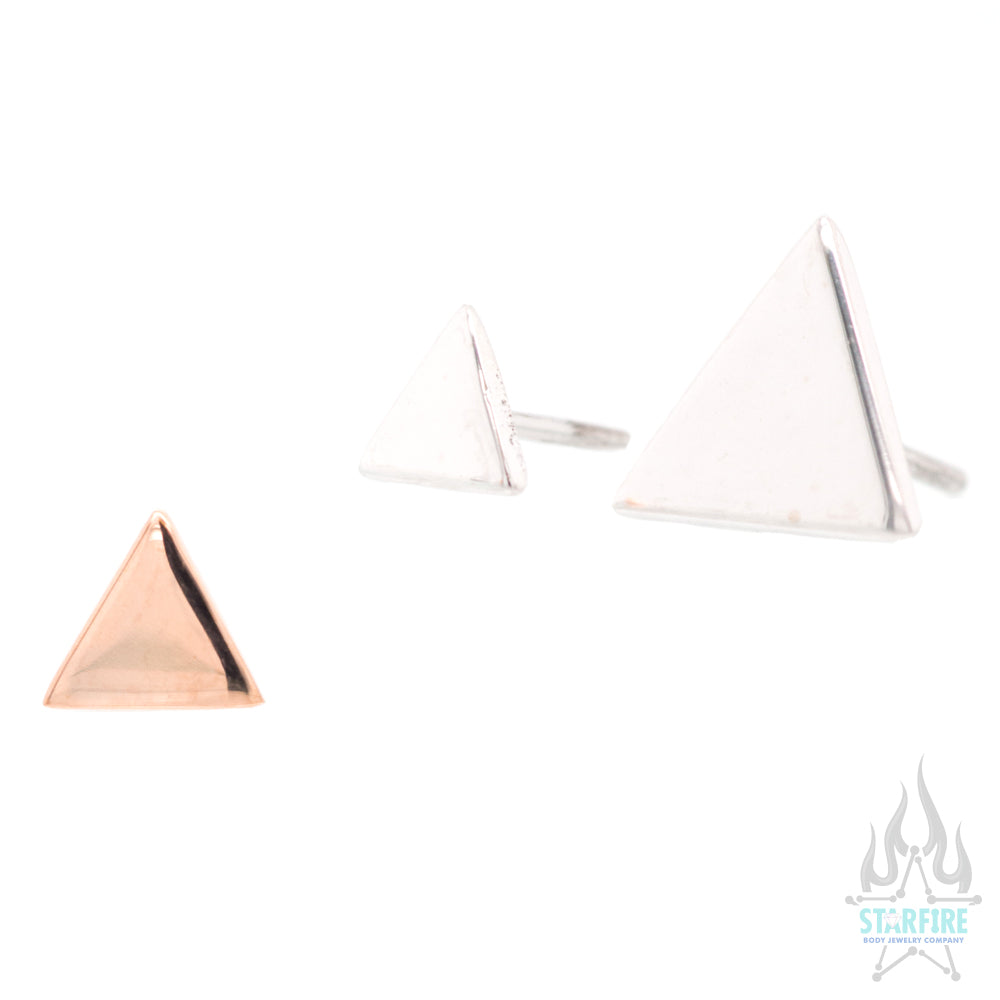 threadless: Classic Triangle End in Gold