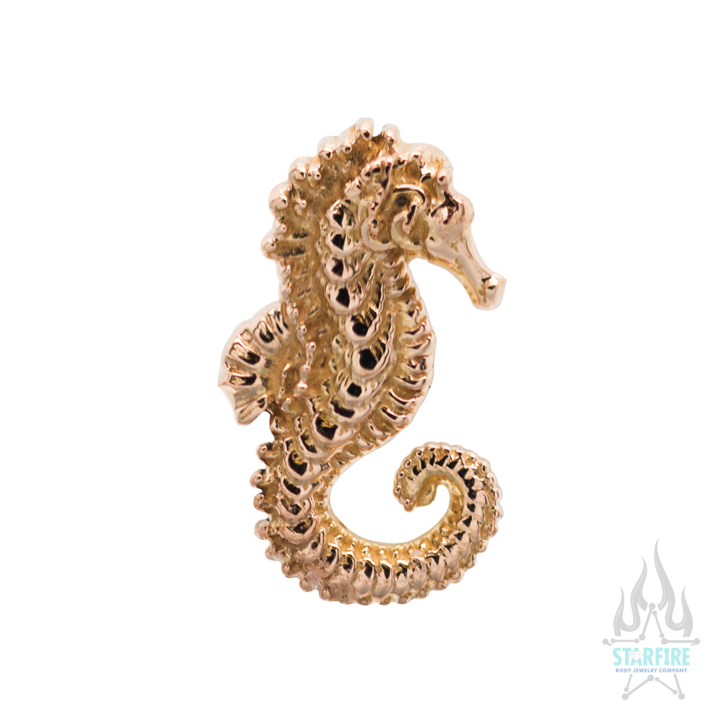 threadless: Seahorse End in Gold