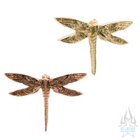 threadless: Dragonfly End in Gold