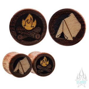 Camp Wood Inlay Plugs