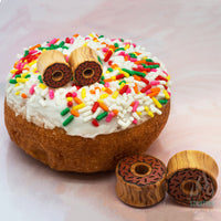 Doughnut Wood Plugs / Tunnels