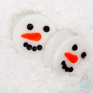 Frosty - Glass Image Plugs
