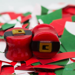 Kris Kringle - Glass Image Plugs