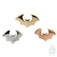 threadless: Bat Pin in Gold