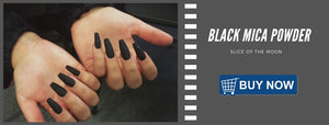 How To Make Matte Nail Paint Using Black Mica Powder