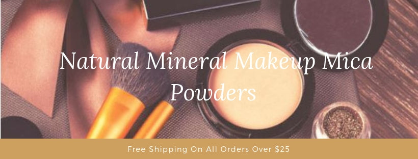 Natural Mineral Makeup Mica Powders - A Cosmetic Evolution