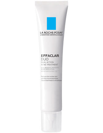 La Roche-Posay Effaclar Duo Dual Action Acne Treatment (1.35 fl oz/ 40 ml)