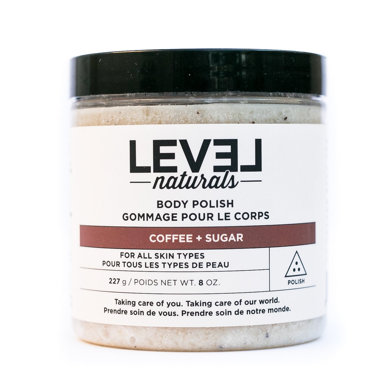 Level Naturals Coffee + Sugar Body Polish