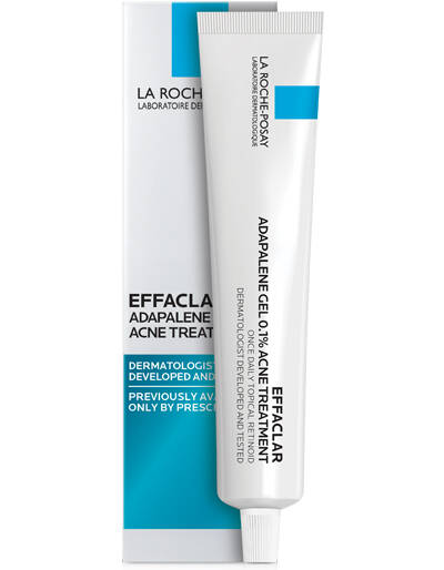 La Roche-Posay Effaclar Adapalene Gel 0.1% Acne Treatment (1.6 fl oz/ 45 g)