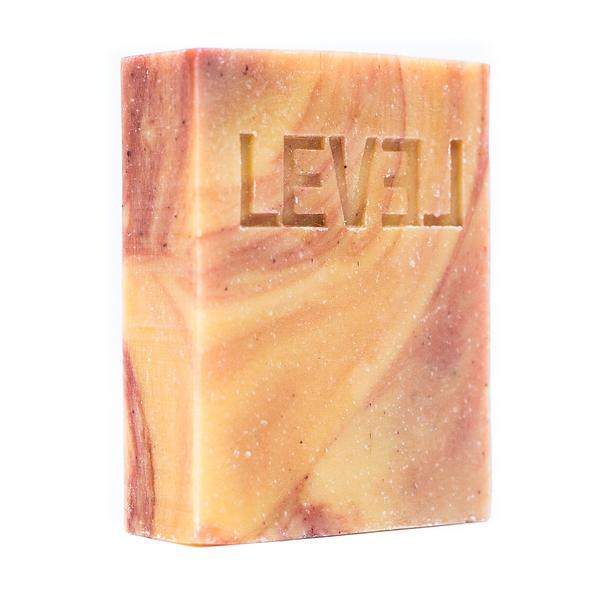 Level Naturals Grapefruit + Bergamot Bar Soap