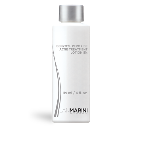 Jan Marini Benzoyl Peroxide Acne Treatment Lotion 5% (4.0 fl oz/ 119 ml) - Test
